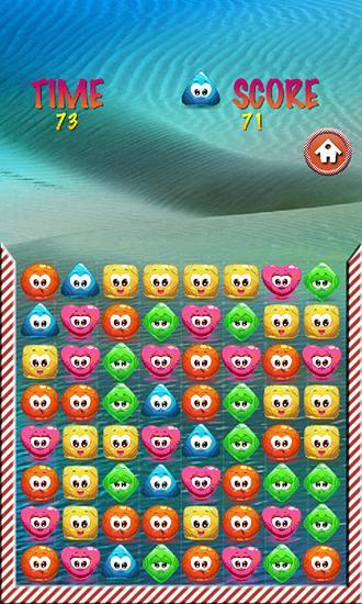 Arcade Jelly smash: Logical game für das Smartphone