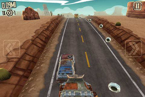 Rennspiele: Lade Verrückter Straßen Fahrer auf dein Handy herunter