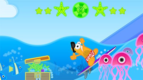 Arcade: download The wave surf: Tap adventure to your phone
