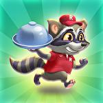 Raccoon pizza rush Symbol