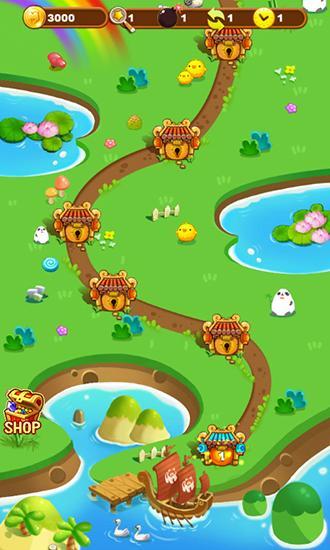 Fruit pong pong 3 screenshot 2