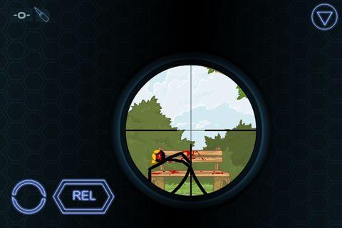 Capture d'écran Le Tireur sur iPhone