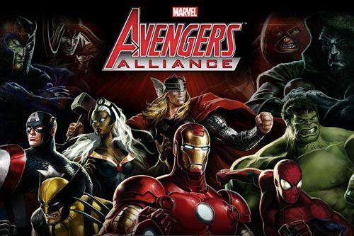 логотип Мстители: Альянс