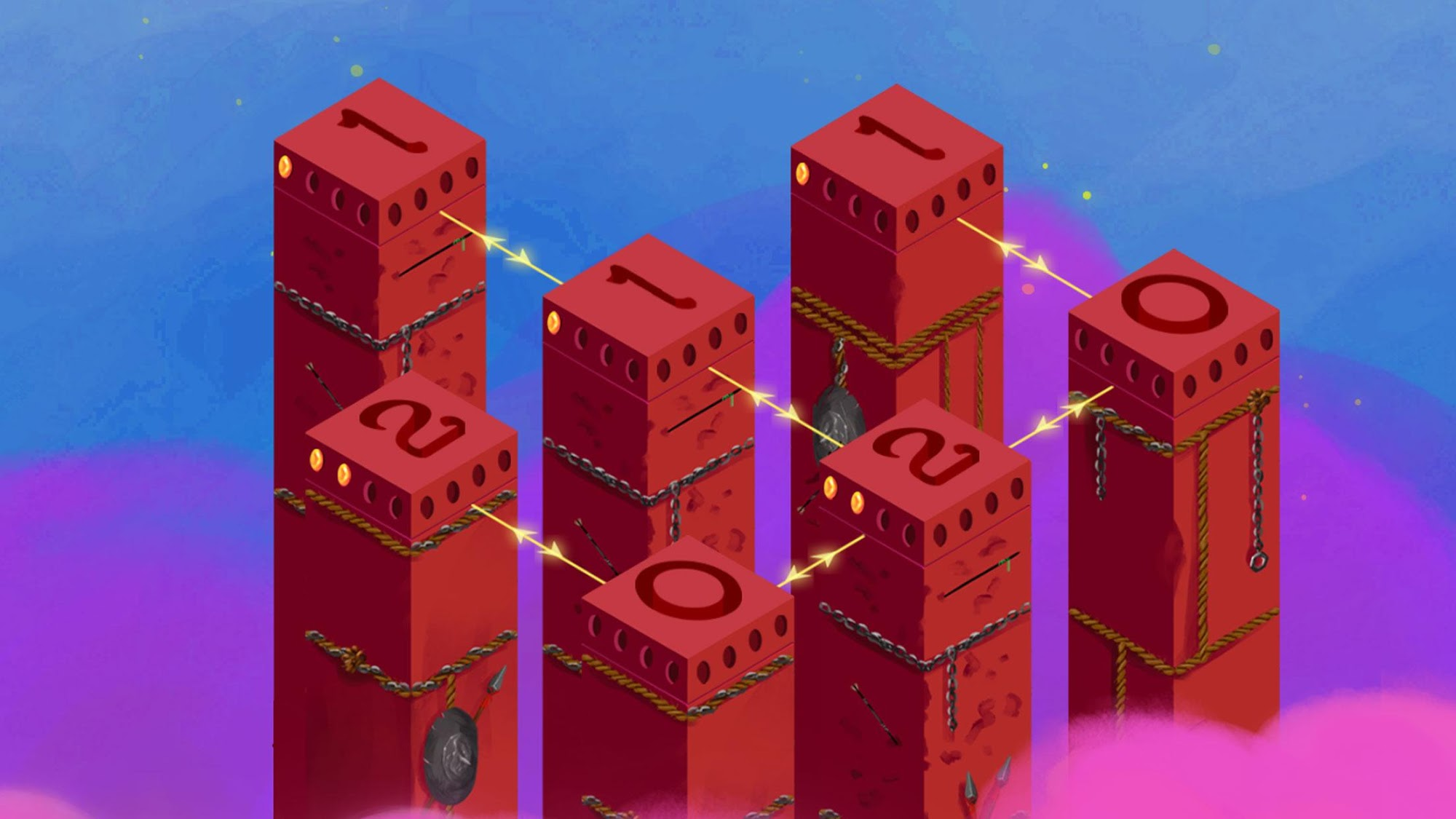 Mystic Pillars: A Story Based Puzzle Game for Android