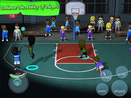 Street basketball association pour Android