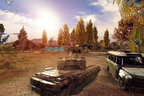 Unendliche Panzer auf Deutsch