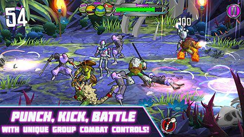 Аркады игры: TMNT: Portal power на телефон iOS