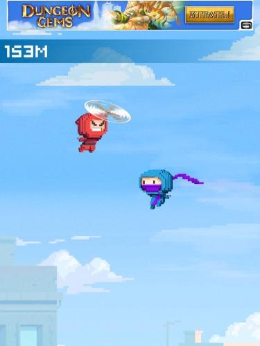 Ninja up!capturas de pantalla