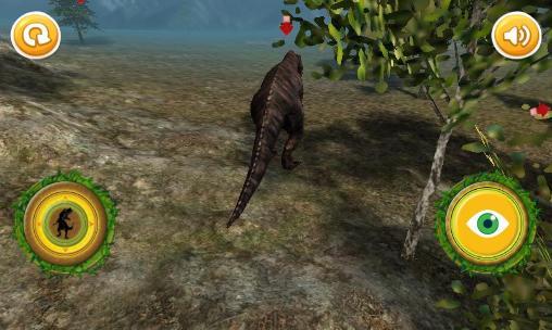 Simulation Jurassic T-Rex: Dinosaur für das Smartphone
