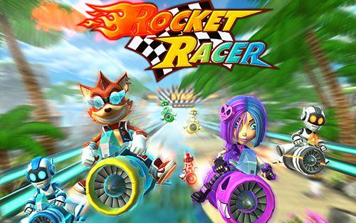 логотип Ракетный гонщик