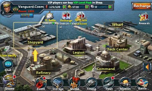 Online games Age of ships for smartphone