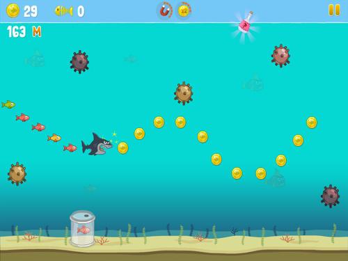Arcade Hero shark für das Smartphone
