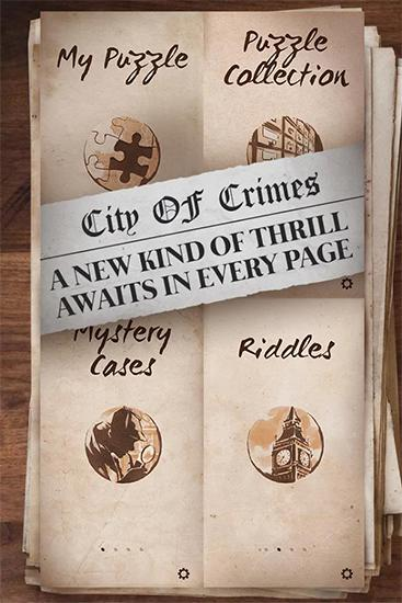 Mystery case files: Crime city screenshot 2