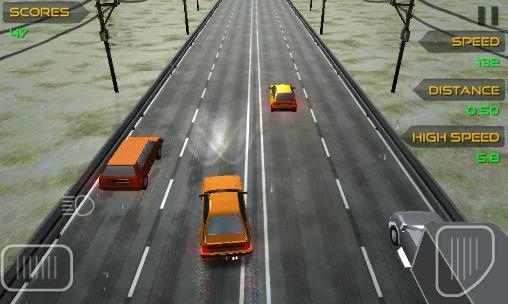 Highway traffic driver auf Deutsch