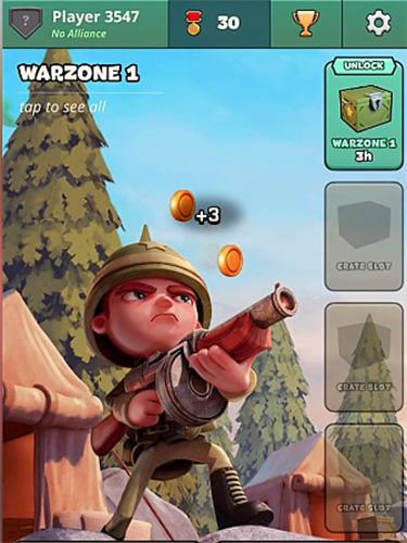 War heroes: Clash in a free strategy card game Screenshot