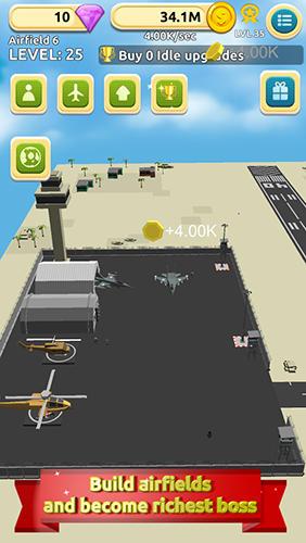Airfield tycoon clicker auf Deutsch