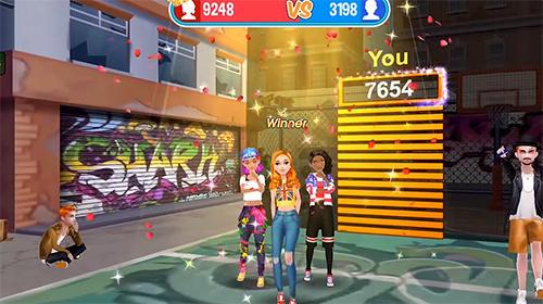 Arcade Hip hop battle: Girls vs. boys dance clash für das Smartphone