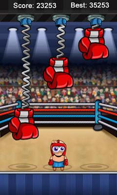 Arcade-Spiele Finger Slayer Boxer für das Smartphone