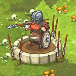 Orcs warriors: Offline tower defense Symbol
