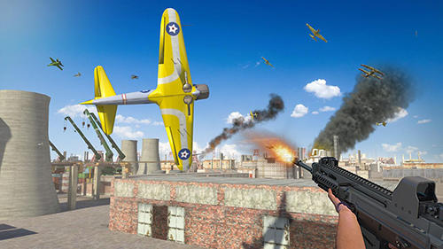 Airplane shooter 3D screenshots