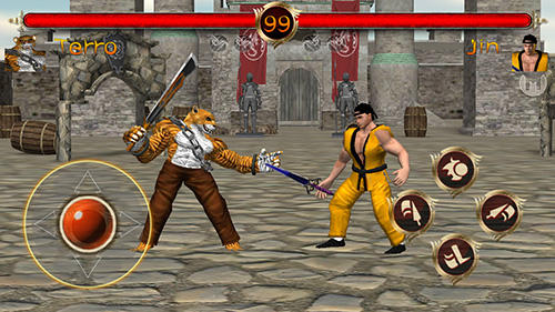 Terra fighter 2: Fighting games screenshot 1