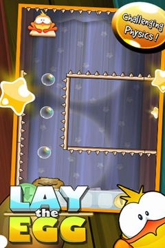 Screenshot Lay the Egg – Epic Egg Rescue Experiment Saga on iPhone