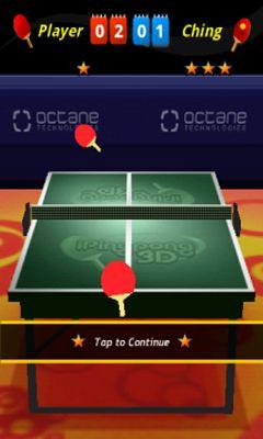 Brettspiele iPing Pong 3D für das Smartphone