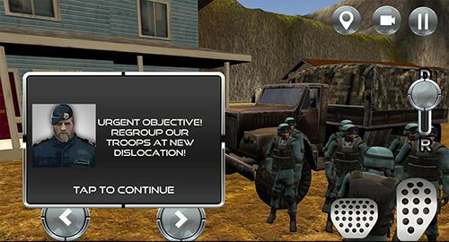 Rennspiele Extreme military offroad für das Smartphone