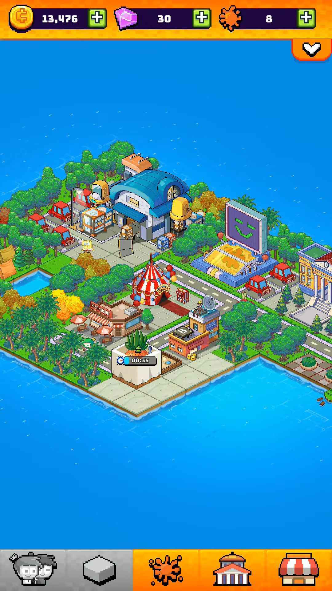 Nickelodeon Pixel Town pour Android