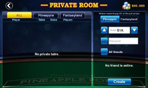 DH: Pineapple pokercapturas de pantalla