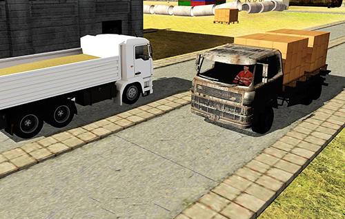 Simulation City builder: Construction trucks sim für das Smartphone