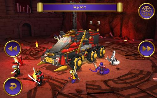Action LEGO Ninjago tournament for smartphone