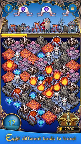 Jewel road: Fantasy match 3 für Android