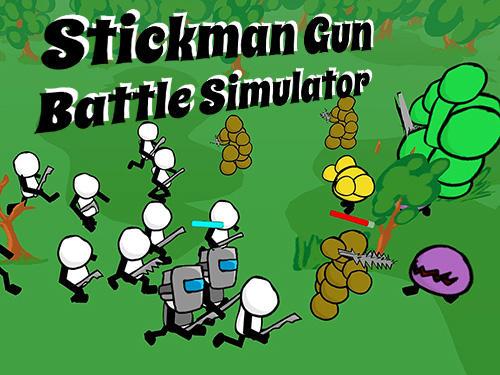 Stickman gun battle simulator Screenshot