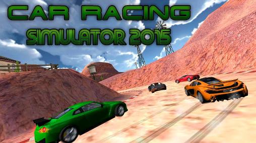 Car racing simulator 2015 captura de tela 1