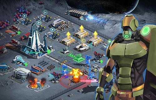 Battle space: Strategic war Screenshot