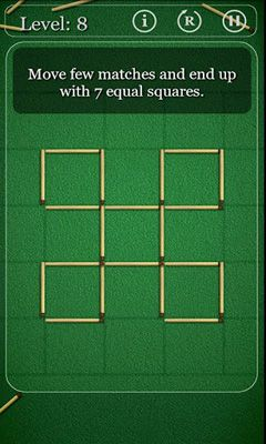Puzzle with Matches Screenshot