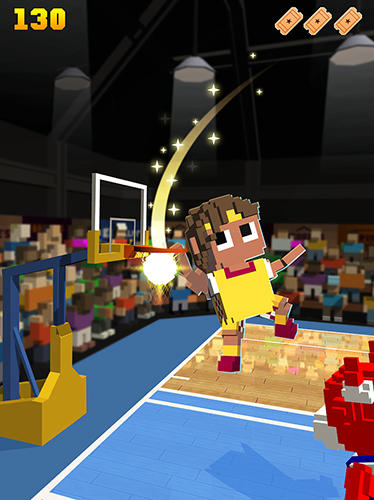Blocky basketball für Android