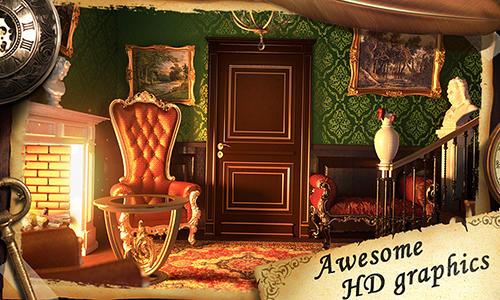 Abenteuer-Spiele Escape: Mansion of puzzles für das Smartphone