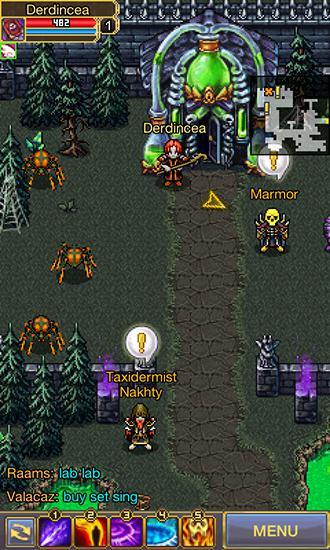 Juegos de rol Warspear online para teléfono inteligente