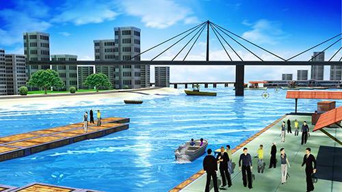 Simulation Boat simulator 2017 für das Smartphone