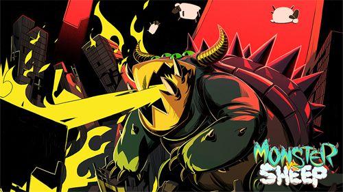 logo Monster vs Schaf