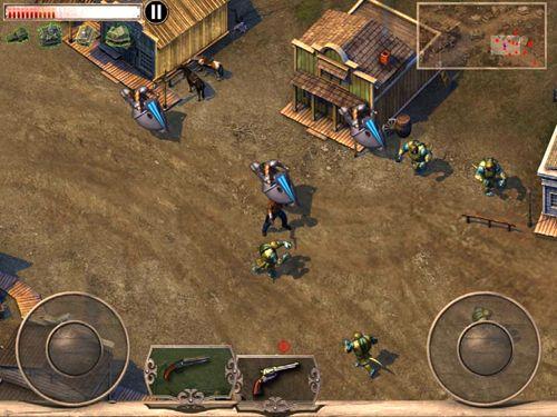Экшен (Action) игры: скачать Cowboys & aliens на телефон