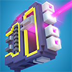 Idle defender: Tap retro shooter icône