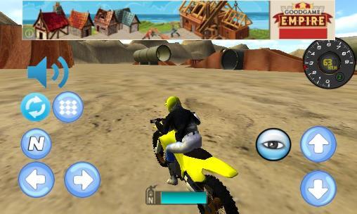 Rennspiele Bike racing: Motocross 3D für das Smartphone