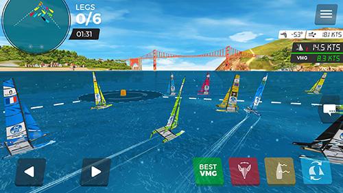 Virtual regatta inshore скриншот 1