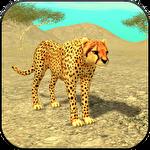 Wild cheetah sim 3D icône