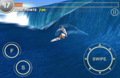Le Surfing avec les Vagues pour iPhone gratuitement