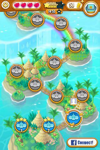 Arcade-Spiele: Lade Super Affen Ball: Bounce auf dein Handy herunter