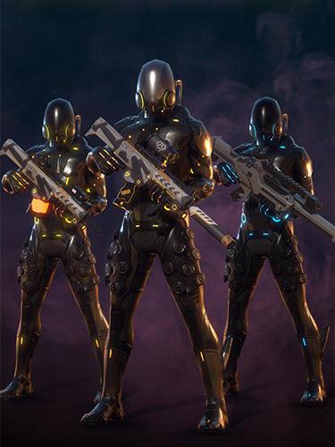 Cyberhero: Multiplayer turn-based cyberpunk RPG для Android